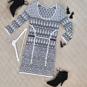 Exclusive for Intermix Jacquard Knit Dress